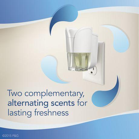 Recharges pour assainisseur d'air éliminateur d'odeurs Febreze Plug, parfum Hawaiian Aloha - image 7 de 7