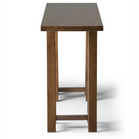 hawkins grande table console pour salon walmart canada. Black Bedroom Furniture Sets. Home Design Ideas