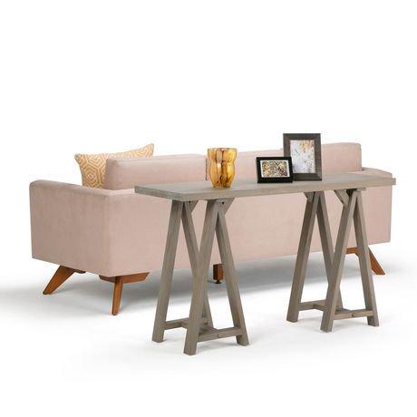 sofa table. Exellent Sofa Hawkins Console Sofa Table Intended