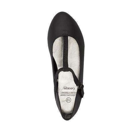 Chaussures plates George pour filles à courroie en T - image 2 de 2