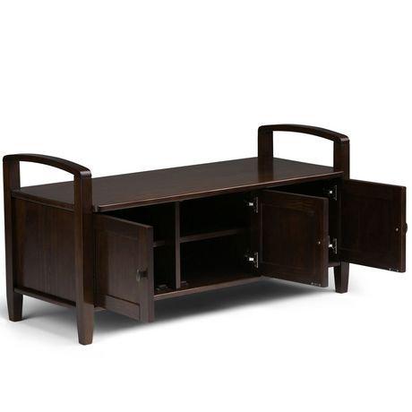 norfolk banc de rangement pour l 39 entr e walmart canada. Black Bedroom Furniture Sets. Home Design Ideas