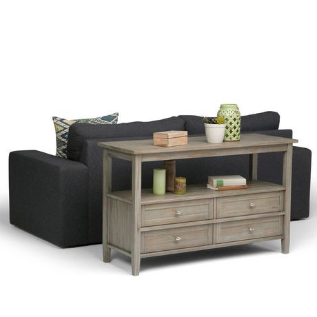 Norfolk console sofa table walmart canada for Sofa table at walmart