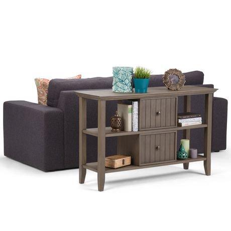 normandy table console pour salon walmart canada. Black Bedroom Furniture Sets. Home Design Ideas