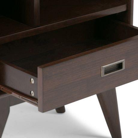 Tierney biblioth que d 39 poque et meuble de rangement for Meuble bureau walmart