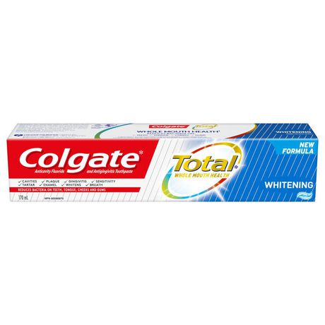 Colgate Total Whitening Toothpaste, Gel - image 1 of 6
