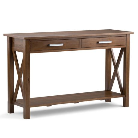 Waterloo console sofa table walmart canada for Sofa table at walmart