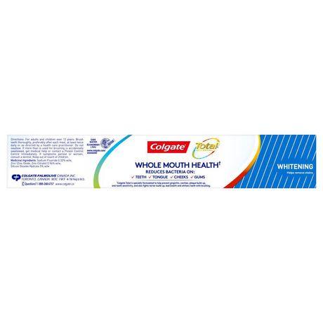 Colgate Total Whitening Toothpaste, Gel - image 3 of 6