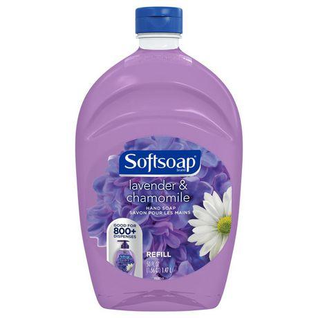 Recharge de savon pour les mains Softsoap Lavender & Chamomile - image 1 de 2
