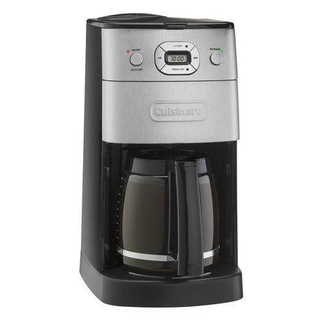 Cuisinart Fully Automatic Grind Brew 12 Cup Coffeemaker Walmart