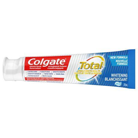 Colgate Total Whitening Toothpaste, Gel - image 2 of 6