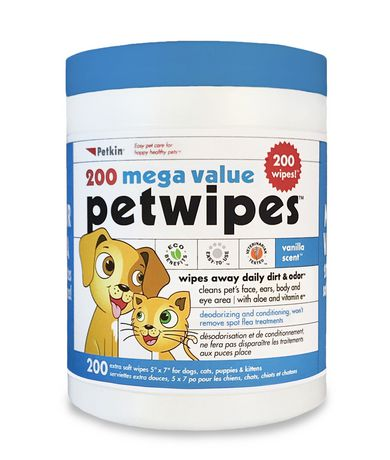 Pet Wipes 200 ct - image 1 of 1