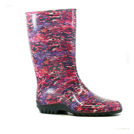 Weather Spirits Women's 27 BlueY19 Rain Boots - image 1 of 1