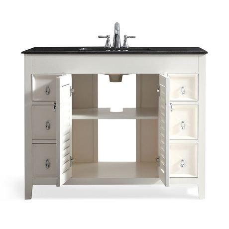 palmer meuble lavabo 42 po avec dessus en granit noir walmart canada. Black Bedroom Furniture Sets. Home Design Ideas