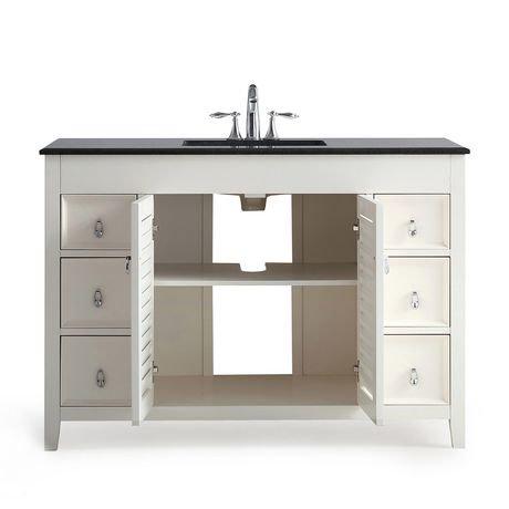 palmer meuble lavabo 48 po avec dessus en granit noir walmart canada. Black Bedroom Furniture Sets. Home Design Ideas