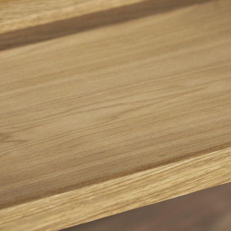 Gerard Industrial Natural Finished Wooden Bar Cart - image 5 of 6
