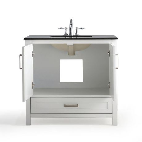 jersey meuble lavabo 36 po avec dessus en granit noir walmart canada. Black Bedroom Furniture Sets. Home Design Ideas