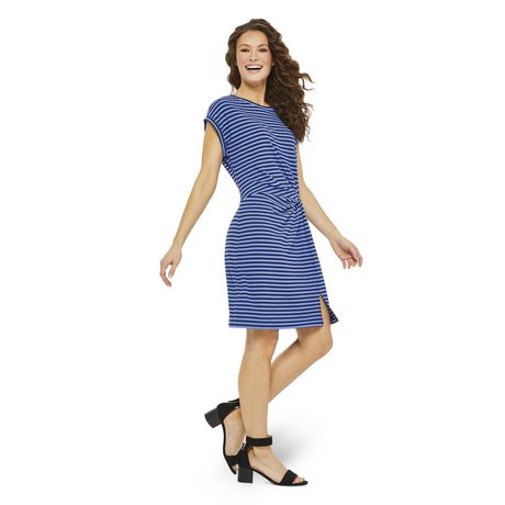 George Women's Ribbed Knotted Dress - image 2 of 6
