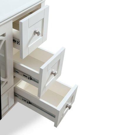 mulberry meuble lavabo 36 po avec dessus en marbre blanc walmart canada. Black Bedroom Furniture Sets. Home Design Ideas