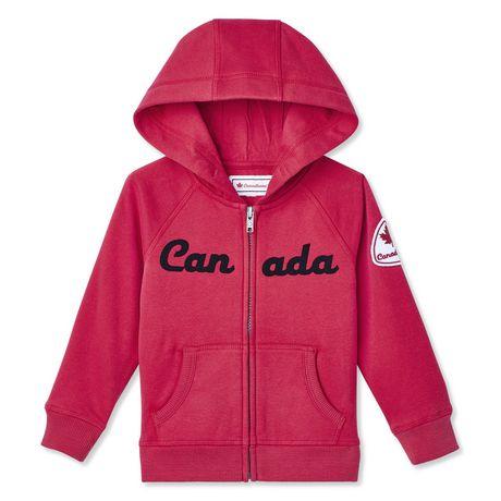 Canadiana Toddler Girls' Hoodie - image 1 of 2