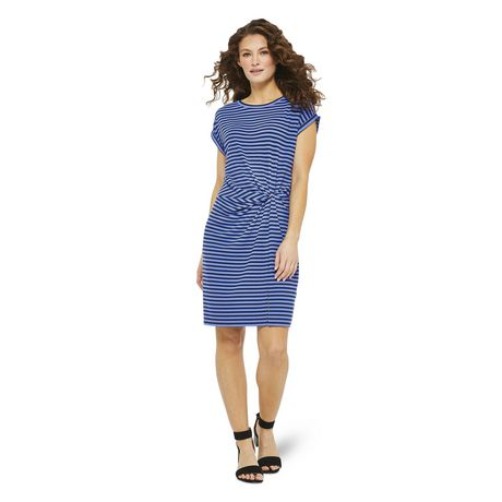 George Women's Ribbed Knotted Dress - image 1 of 6