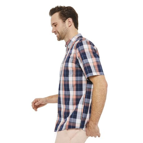 George Plus Men's Short Sleeve Button Up - image 2 of 6