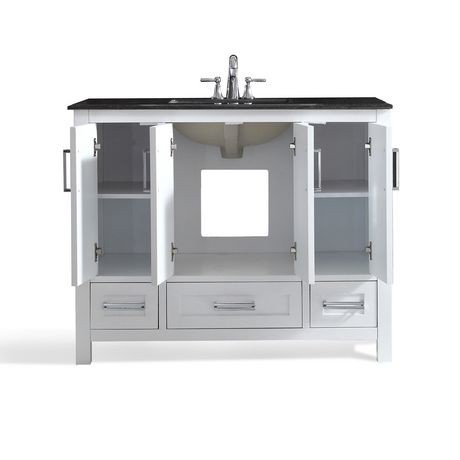jersey meuble lavabo 42 po avec dessus en granit noir walmart canada. Black Bedroom Furniture Sets. Home Design Ideas