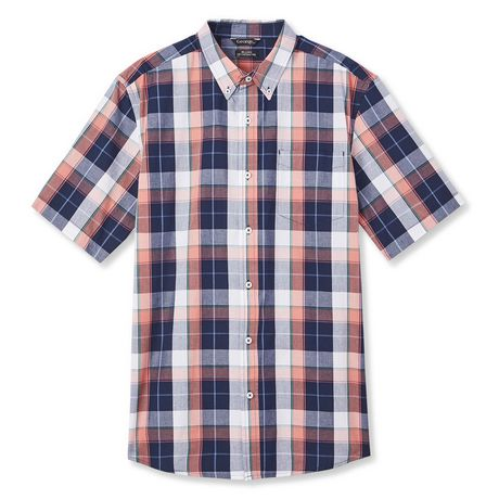 George Plus Men's Short Sleeve Button Up - image 6 of 6