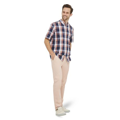 George Plus Men's Short Sleeve Button Up - image 5 of 6