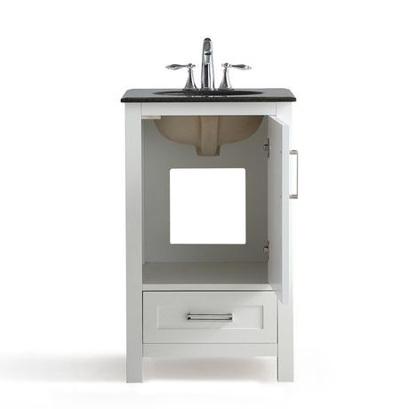 jersey meuble lavabo 20 po avec dessus en granit noir walmart canada. Black Bedroom Furniture Sets. Home Design Ideas