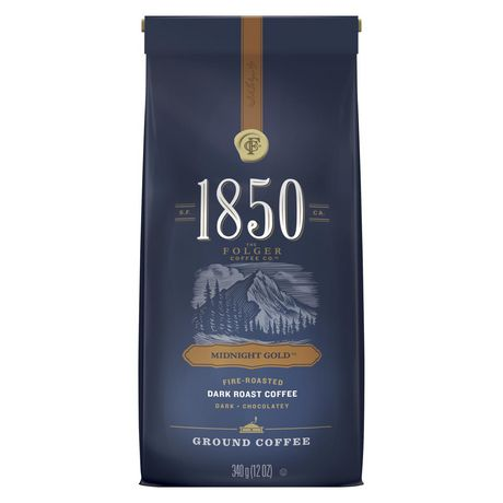 1850 Midnight Gold Ground Coffee 340g - image 1 of 8