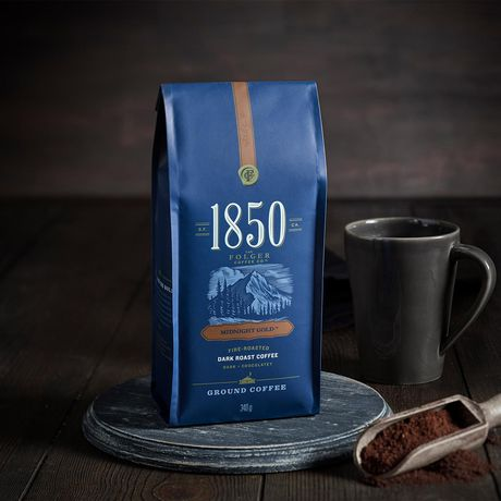 1850 Midnight Gold Ground Coffee 340g - image 2 of 8