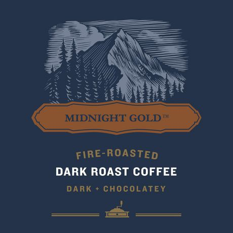 1850 Midnight Gold Ground Coffee 340g - image 7 of 8