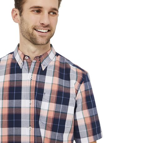 George Plus Men's Short Sleeve Button Up - image 4 of 6
