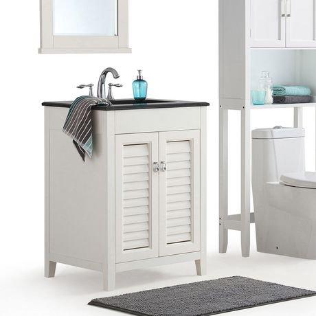 Palmer 24 Bath Vanity With Black Granite Top Walmart Canada
