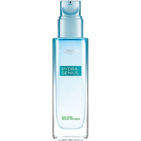 L'Oreal Paris Hydra Genius Daily Hydration Day & Night Moisturizer, with Aloe Water & Hyaluronic Acid, Oily Skin - image 1 of 4