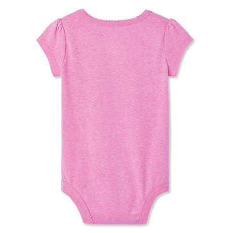 George Baby Girls' Graphic Bodysuit - image 2 of 2