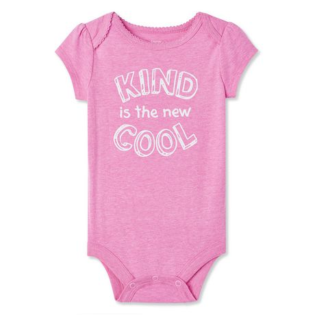 George Baby Girls' Graphic Bodysuit - image 1 of 2