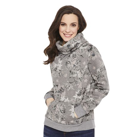 76307526a0a George Women's Fleece Cowl Neck Sweater | Walmart Canada
