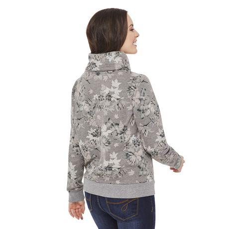 George Women's Fleece Cowl Neck Sweater - image 3 of 6