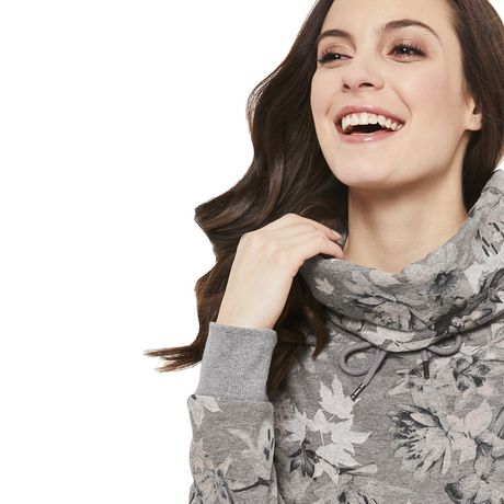 George Women's Fleece Cowl Neck Sweater - image 4 of 6