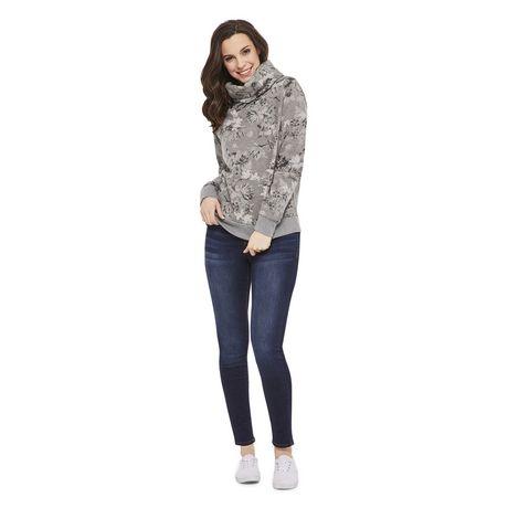George Women's Fleece Cowl Neck Sweater - image 5 of 6