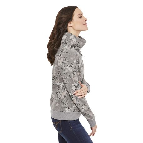 George Women's Fleece Cowl Neck Sweater - image 2 of 6