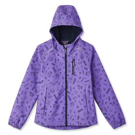 Athletic Works Girls' Bonded Jacket - image 1 of 2