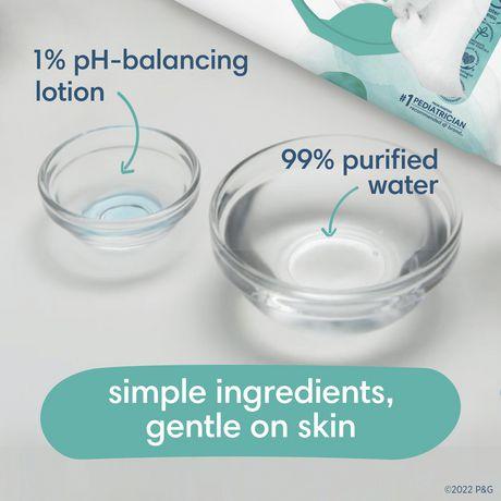 Pampers Aqua Pure Sensitive Baby Wipes 2x Pop Top