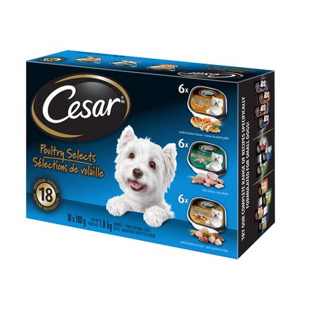 Cesar Poultry Selects Wet Food for Small Dogs - image 3 of 6