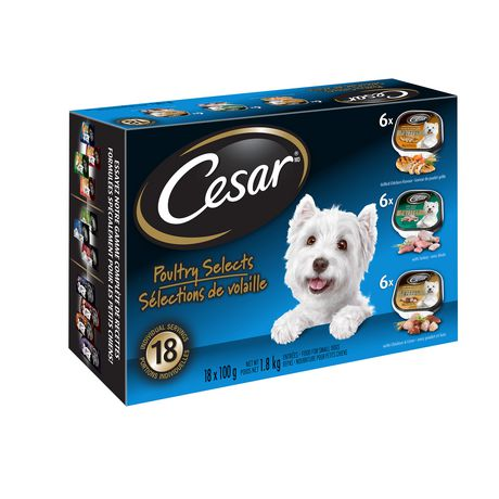 Cesar Poultry Selects Wet Food for Small Dogs - image 2 of 6