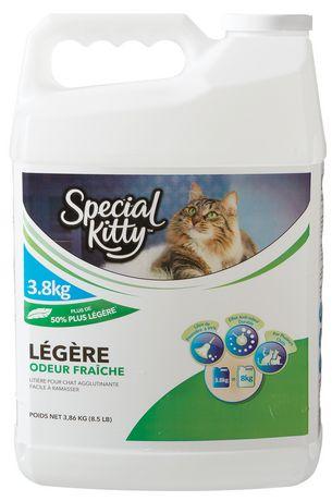 Litière légère agglomérante au parfum frais ramassable pour chats de Special Kitty - image 2 de 2