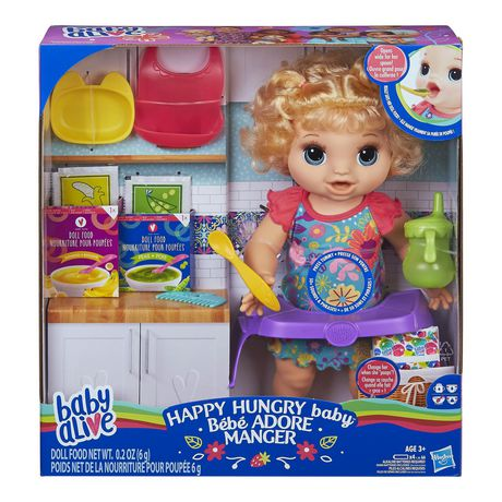 Baby Alive Happy Hungry Baby - image 1 of 8