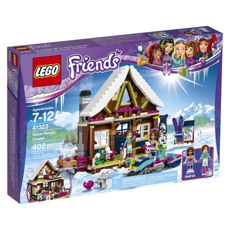 LEGO LEGO Friends - Snow Resort Chalet (41323) | Walmart Canada