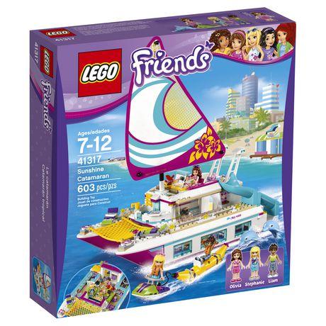 Lego Lego Friends Sunshine Catamaran 41317 Walmart Canada